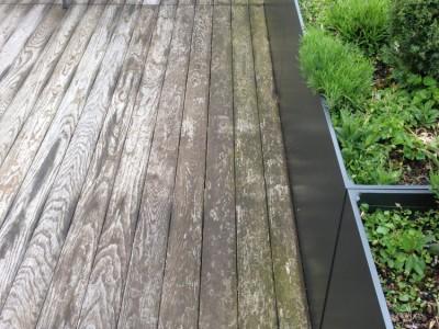Terrasse reinigung